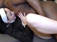 Nuns Take Big Black Cock