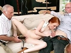 Old Time Antique And Old Man Asian Doll And Old Man Student And Deviant Old