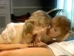 Two Enticing Retro Cocksluts Suck Big Manstick One By One