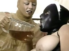 Two Perverse Chicks In Spandex Attire Slurp Each Other Snatches In Sixty-nine Style