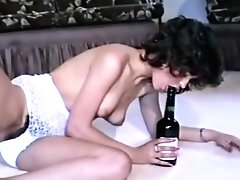 80s Bitchy Chicks In Hot Retro Undergarments Are Excitingly Masturbating Hairy Pusses