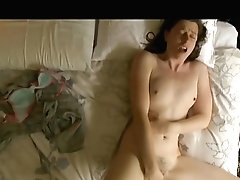 Black-haired With Smallish Tits Likes Masturbating Hairy Cunny In Antique Adult Flick
