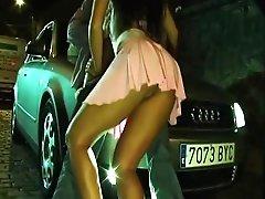 Street Hooker Earning Her Money