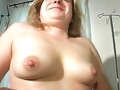 90s Fatty German Cougar Unwraps And Passionately Fucks With Big Fuck Stick