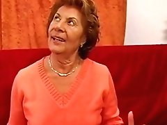Retro Granny Oral Jobs Two Youthfull Dicks And Gets Fucked In Antique Threesome Pornography Movie