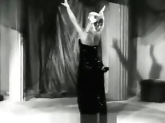 Blonde Dancer Shows Off Her Kinks (1950s Antique)