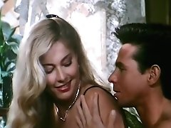 Moana Pozzi And Peter North Hump Scene - Naked Queen (1991)