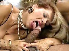Colette Sigma And Babette Blue - 4some