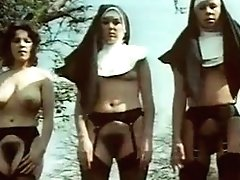 Lewd Antique Nuns Display Their Thick Bushes And Sugary-sweet Tits