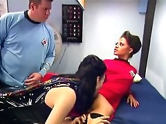 Classical Sex Industry Star Trek Parody Big And Crazy Group Romp