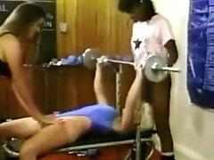 Women On Gym - Antique Sport Damsels.