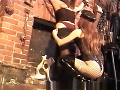 Lovely Brown-haired Cutie Indeed Luvs Some Decadent Bdsm Area Whipping Joy