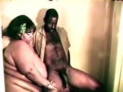 Big Fat Gigantic Black Bitch Loves A Hard Black Jizz-shotgun Inbetween Her Lips And Gams